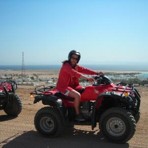 19 Quad Biking Safari in the desert