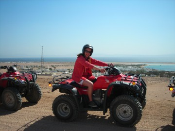 19 Quad Biking Safari in the desert